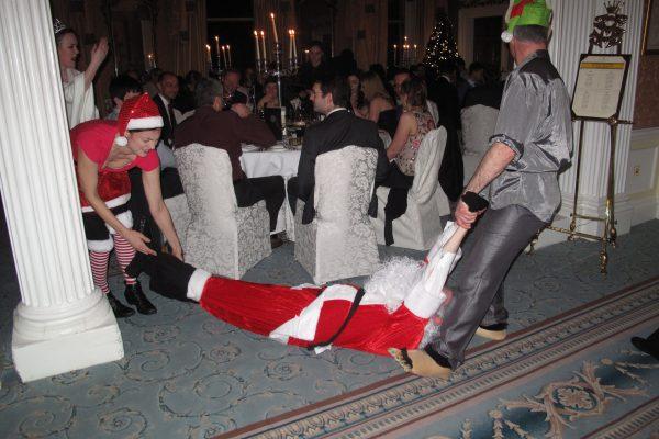 Who Killed Santa- Evening Interactions