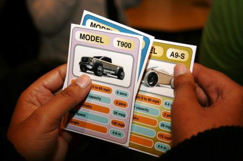 Need 4 Speed model cards