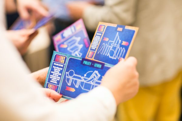 Chain Reaction TableTop game cards