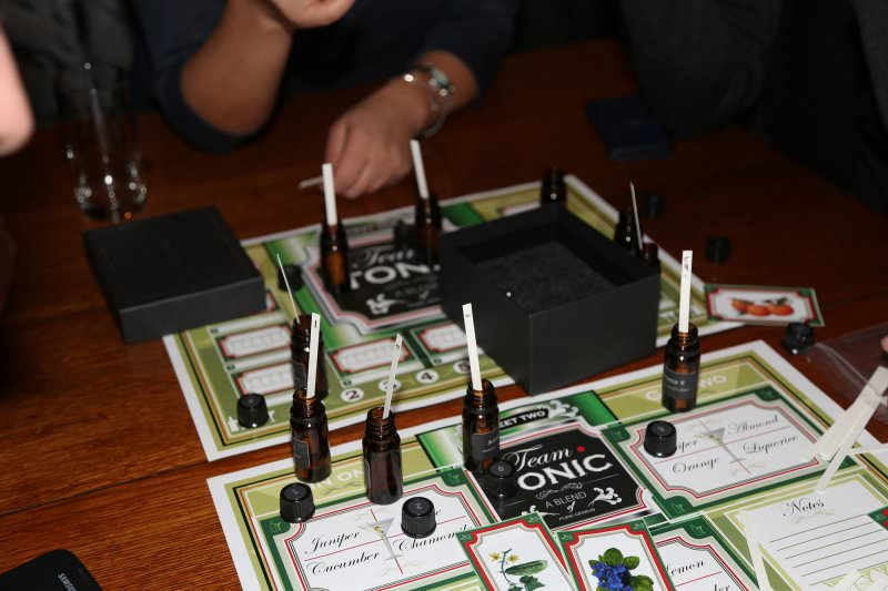 Team Tonic game board