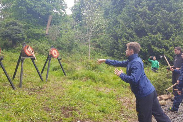 Axe Throwing- Team Building Adventure