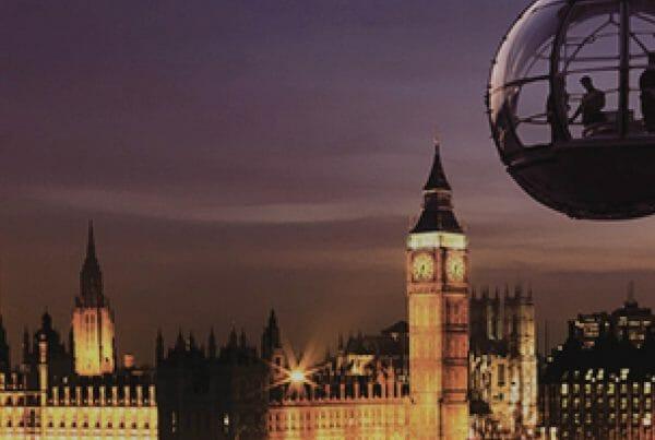 Go Team London By Night