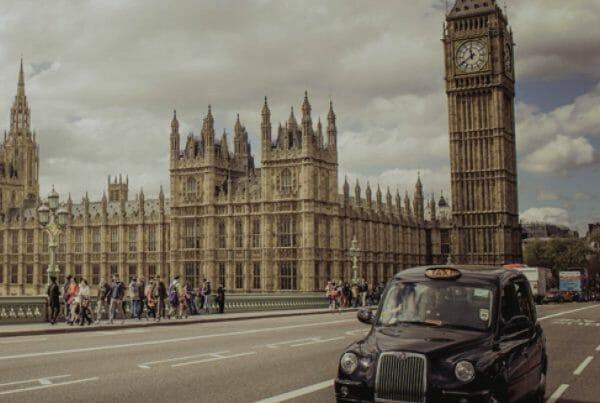 Go Team London Taxi