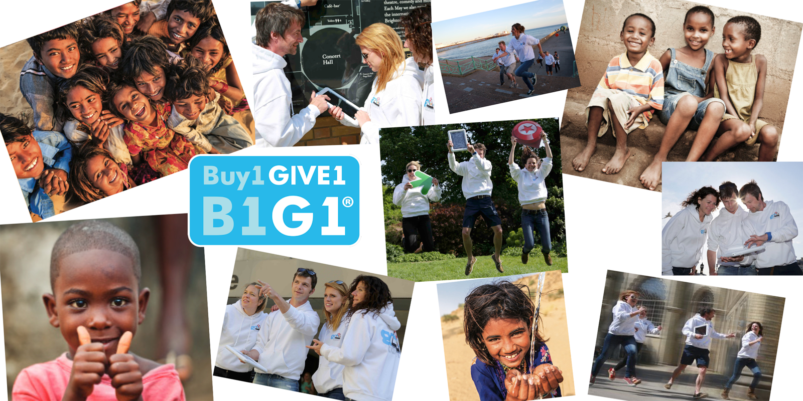 Teaming up with Buy1 Give1 to Make an Impact