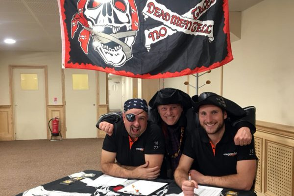 Pirate themed team building game Trade Winds