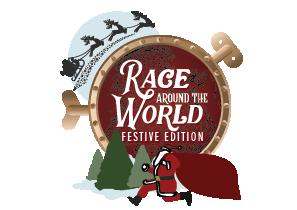 Race Around the World Festive edition logo